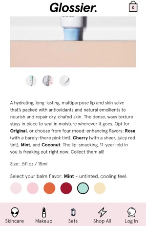 First selection: Mint! (a great option for summer, by the way)